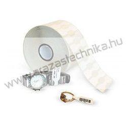 Ékszercímke 49x10 mm műanyag 1000 db/tek