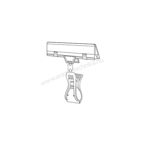 Kartontartó CLICK csipesz  (35 mm)