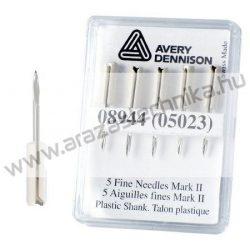 Póttű Avery Fine szálbelövőhöz (05023) (5db/csomag)