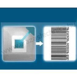 RF árúvédelmi címke 40×40mm (1.000db/csomag) ECO vonalkódos
