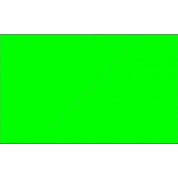 26x16mm fluo zöld ORIGINAL árazócímke (1.000db/tek) - szögletes