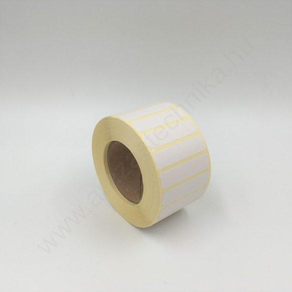 40x10 mm TT papír címke (2.000 db/40)