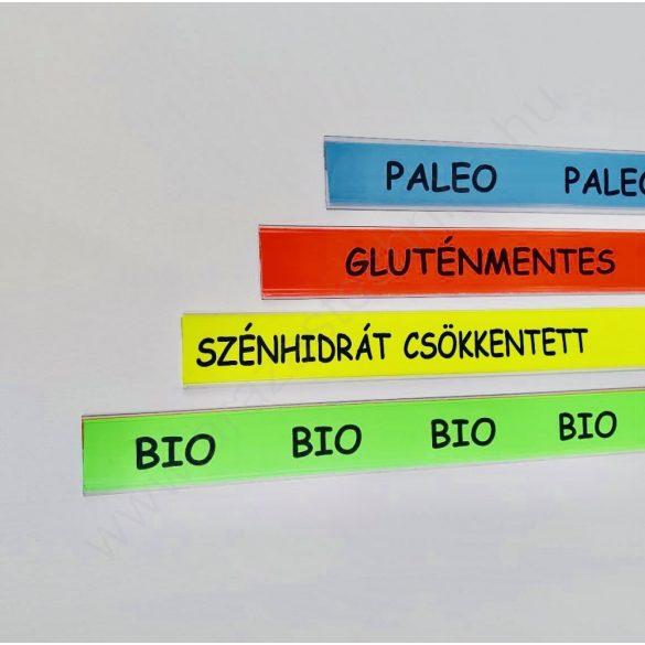 Háttércsík 30mm ×50mm BIO, Paleo...