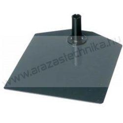 Plakátkerethez infó talp fém metál szürke + adapter