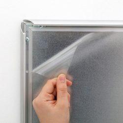 PVC VÉDŐFÓLIA - A1 megállítótáblához, plakátkerethez