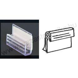 Gripper - öntapadó táblatartó - függőleges (25×20mm)