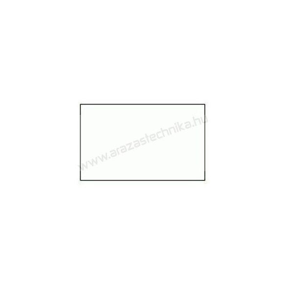 26x16mm  fehér ORIGINAL árazócímke (1.000db/tek) - szögletes