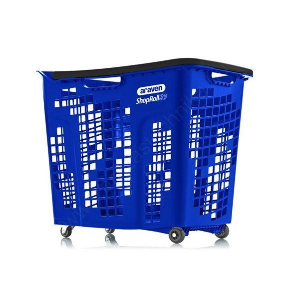 80 literes gurulós bevásárló kosár