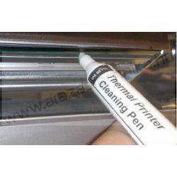 Tisztító toll nyomtatófejhez, tekercses címkenyomtatókhoz