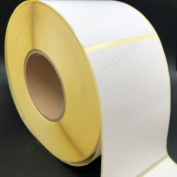 100x100mm TT papír címke (1.000 db/76) hűtőházi