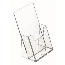Prospektustartó 1/3 A4 (104 x 201 x 32 mm) - asztali