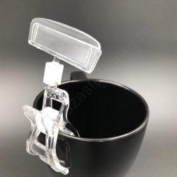 Kartontartó csipesz (35mm)