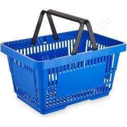 22 literes kézi bevásárló kosár - kék