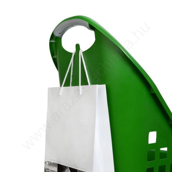 Gurulós bevásárló kosár 64L Flexicart - FEKETE