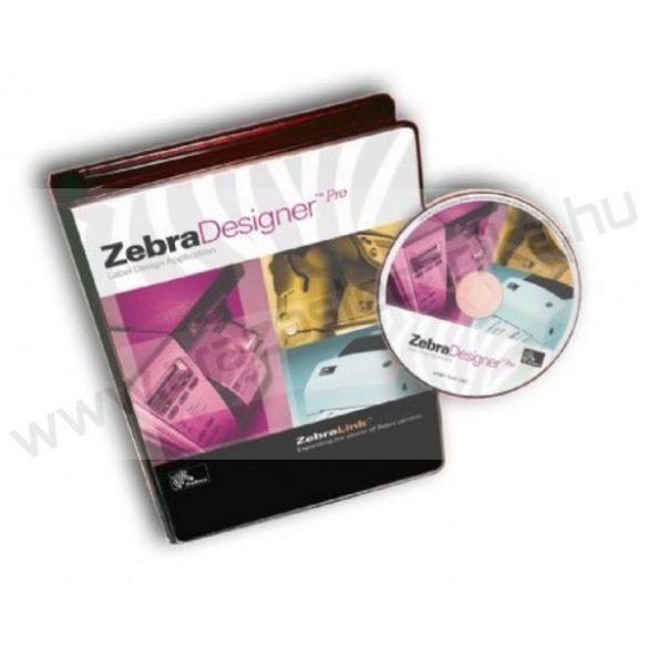Zebra Designer PRO szoftver, adatbázisból történő címkenyomtatás