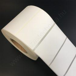 70x35 mm PET Matt WHITE címke (1.000db/40) - kültéri