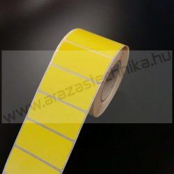 50x25mm THERMO címke - CITROM  (2.000 db/40)