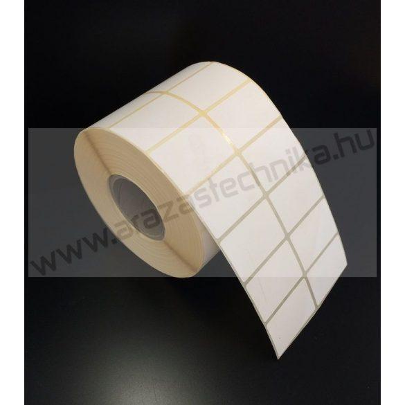 40x25mm THERMO címke (2×2.000 db/40)