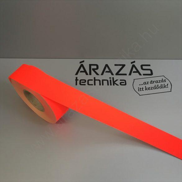 Háttércsík 3cm × 50 méter (FLUO piros papír)
