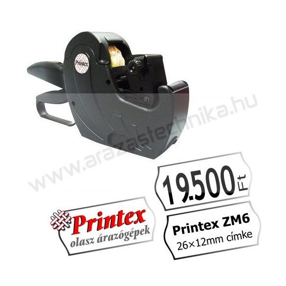 PRINTEX ZM6/2612 MAXI egysoros árazógép