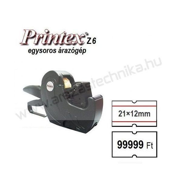 PRINTEX ZH6 1soros árazógép (21×12mm árazócímke)