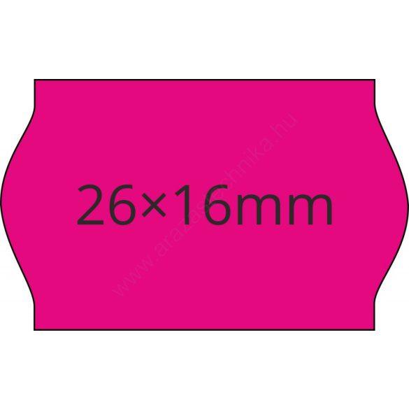 26x16mm MAGENTA ORIGINAL árazócímke (1.000db/tek)
