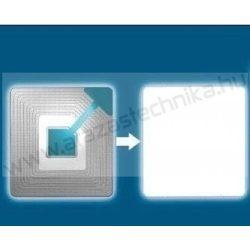 RF árúvédelmi címke 40×40mm  nyomatlan (2.000db/csomag) OPTI