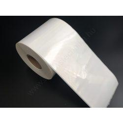 102x260 mm PP WHITE erős ragasztós műanyag címke, RITZ