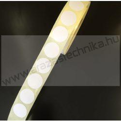 20mm körcímke - fehér (1.000 db/tek)
