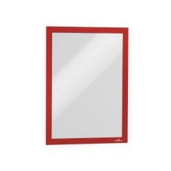 Duraframe®  A4 - mágneses plakátkeret öntapadó hátlap (4882-03) - piros RAL3001