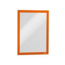Duraframe®  A4 - narancs infokeret (4882-09) öntapadó hátlap