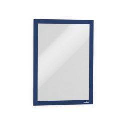 Duraframe®  A4 - mágneses plakátkeret öntapadó hátlap (4882-07) - kék RAL5003