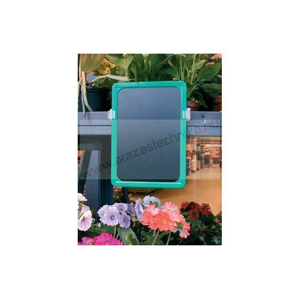 A4 zöld PVC lap (210×297mm) folyékony krétával írható