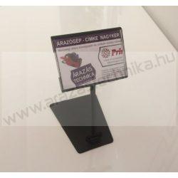 Árkazetta SZETT PromoLabel 70x49mm + TALP + szár (fekete)