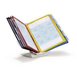 Vario® PRO 10 db A4 FORGATHATÓ lapozó (5579-00) asztali-fali