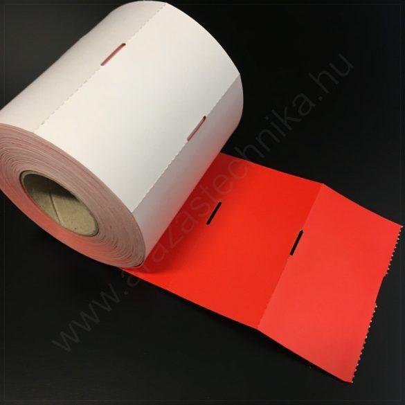 Polccímke 60x40 mm THERMO - piros (700db/tek)