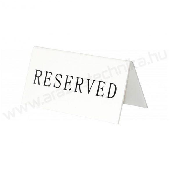 Asztal tábla Reserved felirattal Securit®