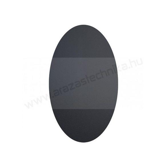 Fekete matrica 8,5 x 5 cm (CS-OVAL-8)