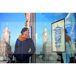 Duraframe® SUN  50×70cm ezüst plakátkeret üvegre (5005-23) UV álló