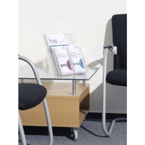 A4 és A6 Prospektustartó fali - asztali (8613-19) COMBIBOXX PRO