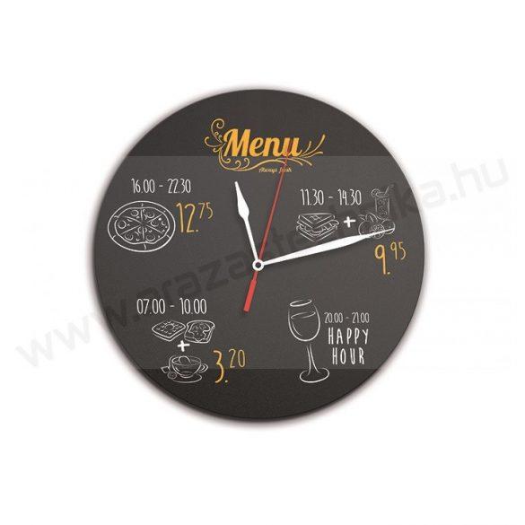 Óra - írható krétatábla - Securit® Clock Chalkboards +1 krétamarker (FB-CLOCK)