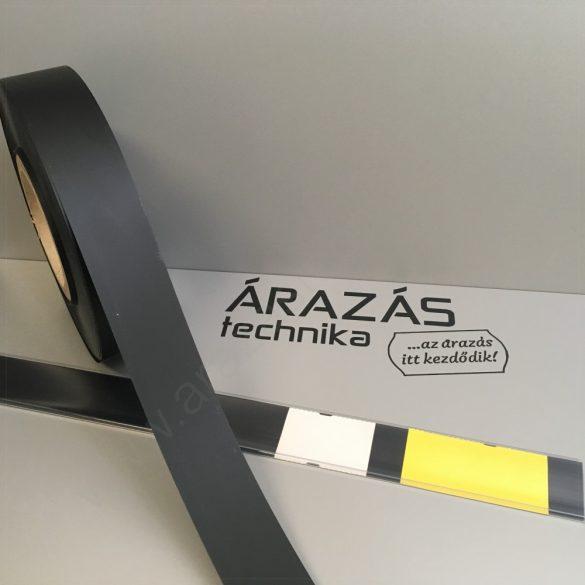 Háttércsík PVC 4cm × 100 méter - FEKETE