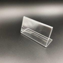 Árcímke tartó plexi  90×54 mm