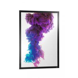 Duraframe® POSTER A1 - fekete infokeret (4997-01) öntapadó hátlap