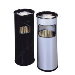 Hamutartó - 17 L fém szemetes (3330-01) fekete