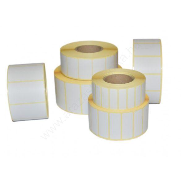 50x25 mm TT papír címke (2.500 db/40) REM. visszaszedhető