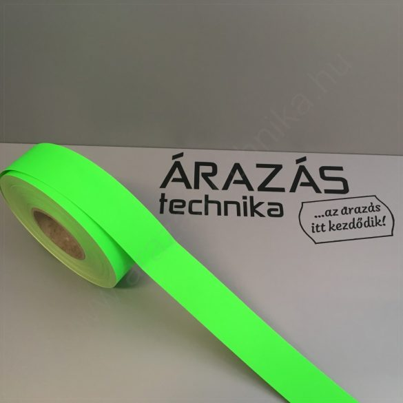 Háttércsík 3cm × 50 méter (FLUO zöld papír)