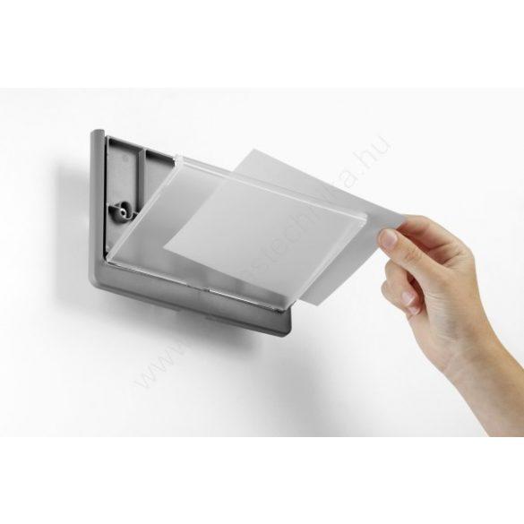 CLICK SIGN 149×148,5 mm (4862-37) ajtótábla - graphite