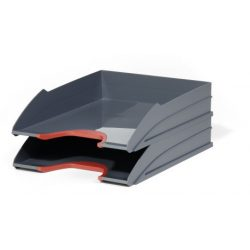 VARICOLOR® TRAY SET DUO 2 db-os iratrendező tálca (7702-03) piros