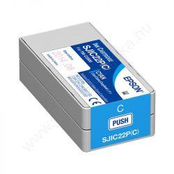 Epson SJIC22P(C) kék tintapatron